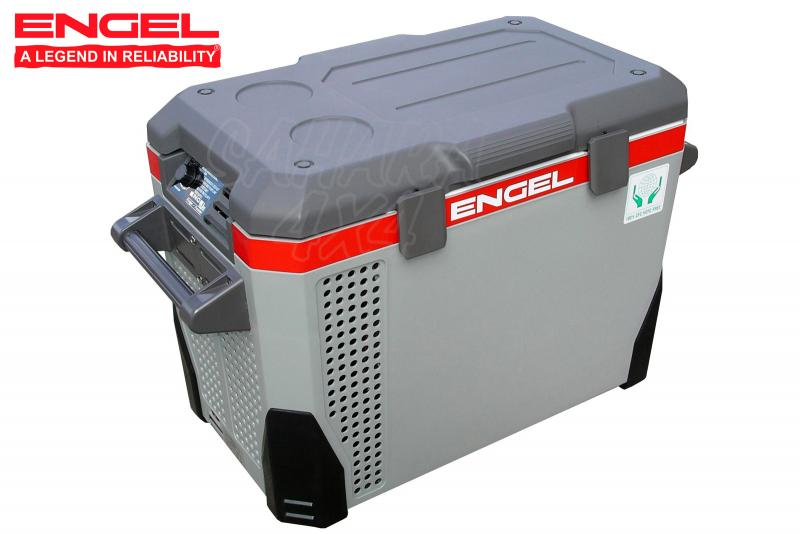 MR40, Congelador Engel MR040 40L 12v/24v/230v - Tamaño 63.6x48.3x36.6 cm