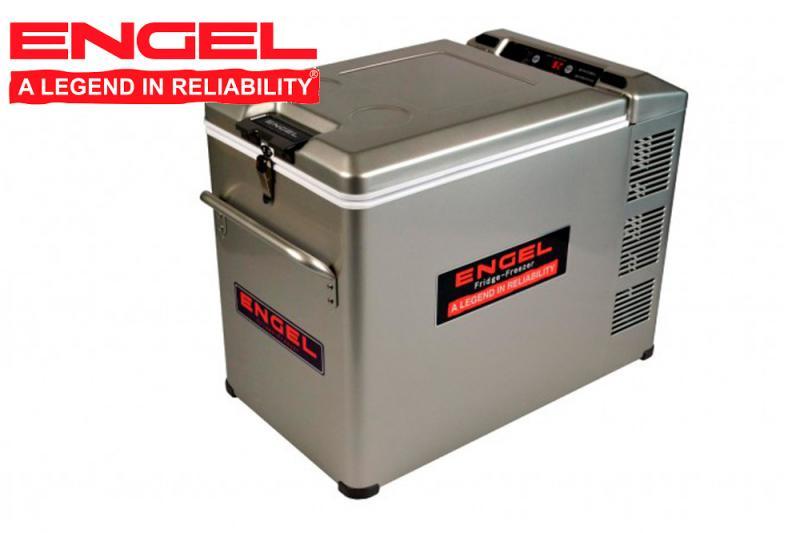 Nevera Engel 40 litros COMBI Nevera + Congelador 12/24 v - Tamaño 64.7x50.8x36.4 cm