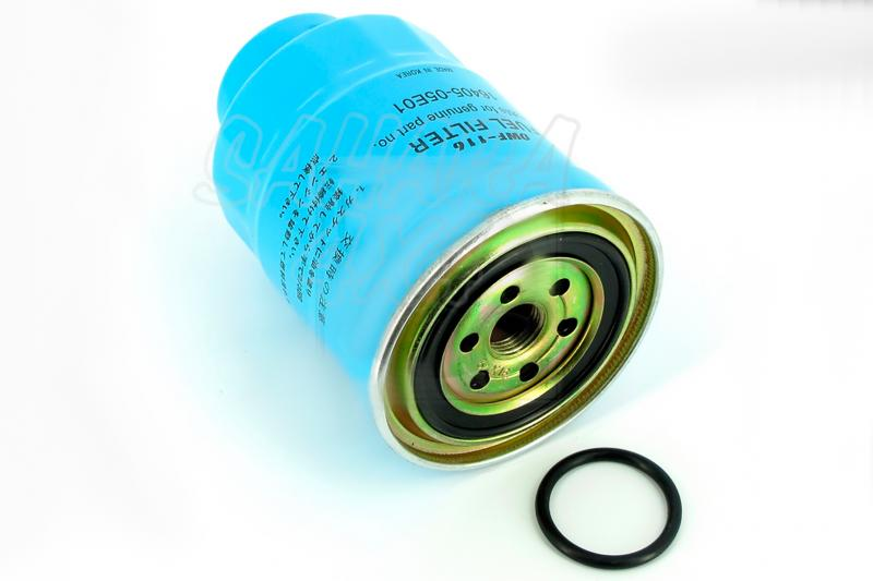 Filtro de combustible Nissan 16403-4U105 - Diametro ext 92 cm , Alto 136 cm , rosca 3/4