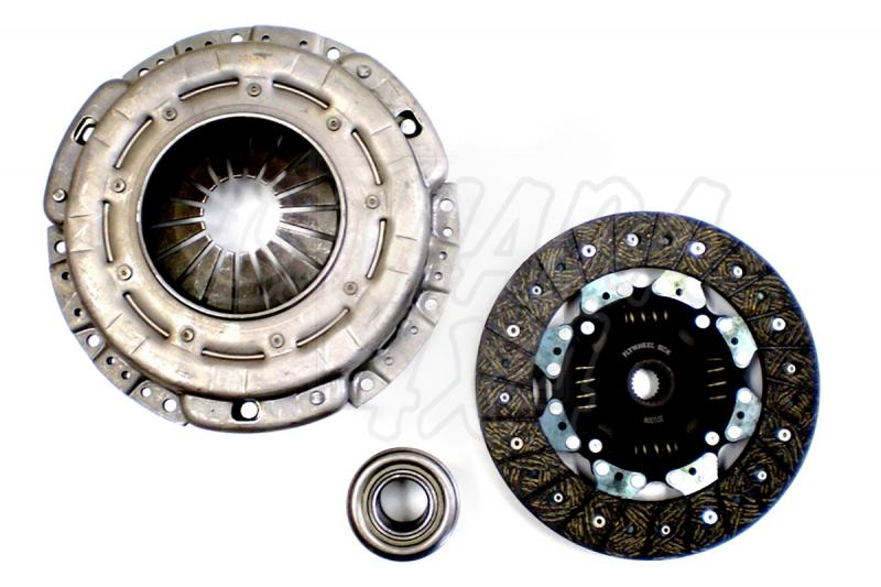 Kit de embrague Nissan Patrol 2.8 TD - Disco , prensa y cojinete , Diametro 240 mm , Dientes 24 , 3 pcs