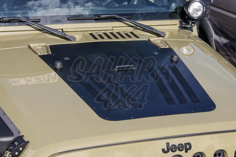 Cubierta de capó para Jeep Wrangler JK