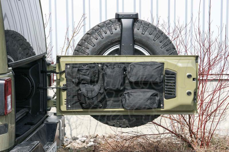 Organizador portón para Jeep Wrangler JK - Valido para jeep wrangler JK