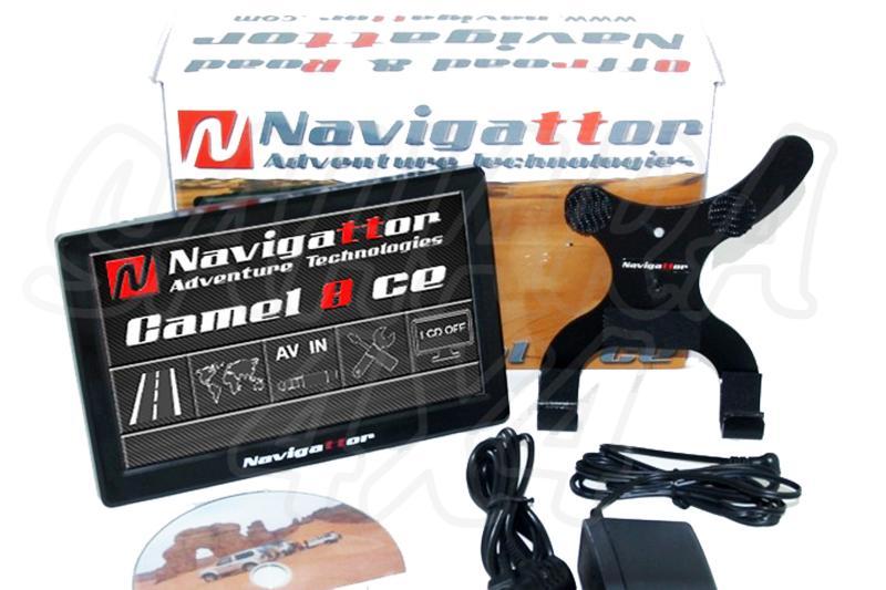 GPS Navigattor Camel 8 CE modelo V2  - Nueva version V2 con mejor iluminación y más rápido que su antecesor .Cartografía OZI Explorer Gratuita. No incluye brazo Ram.