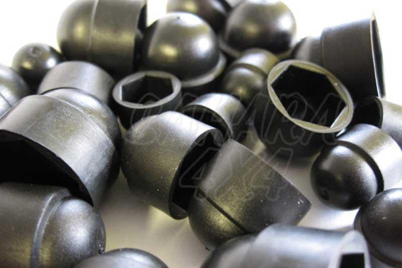 Tapones de plastico para tornillos (M6) 10mm - Precio por 10 unidades
