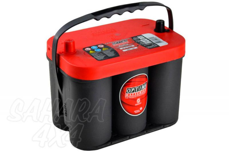 Batería Optima 4.2 Red Top bateria gel RTC 4.2 12v (50Ah - 815A)