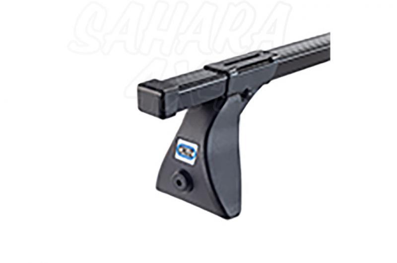 Barras Cruz Optima Acero OS105 para Mitsubishi Montero IO/Pinin 2000-