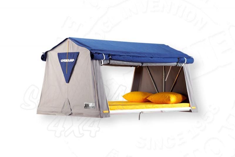 Tienda de techo Overcamp Mediana  - Medidas: 1.45mts x 2.10mts, recomendada para 2 adultos + 2 niños.