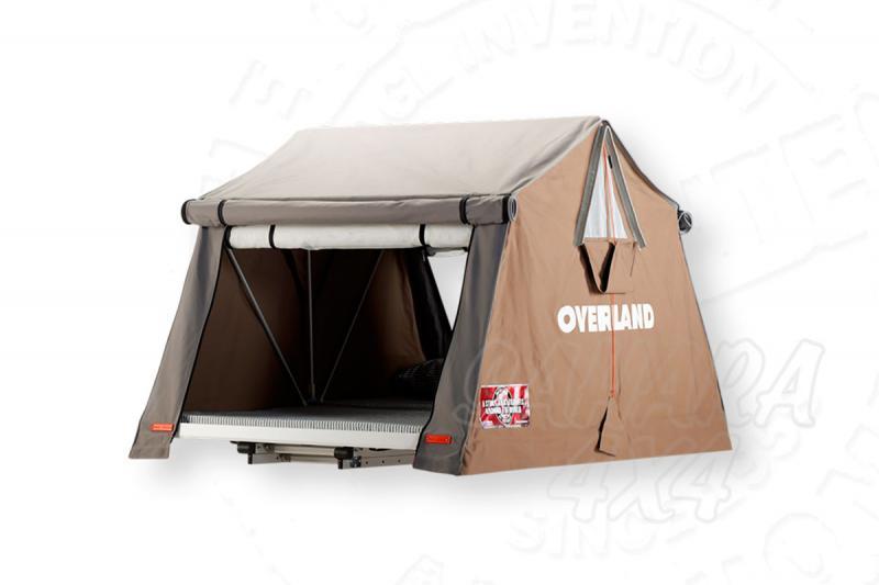 Tienda de techo Overland Grande (Safari) - Medidas: 1.80mts x 2.20mts, recomendada para 2 adultos + 2 niños.
