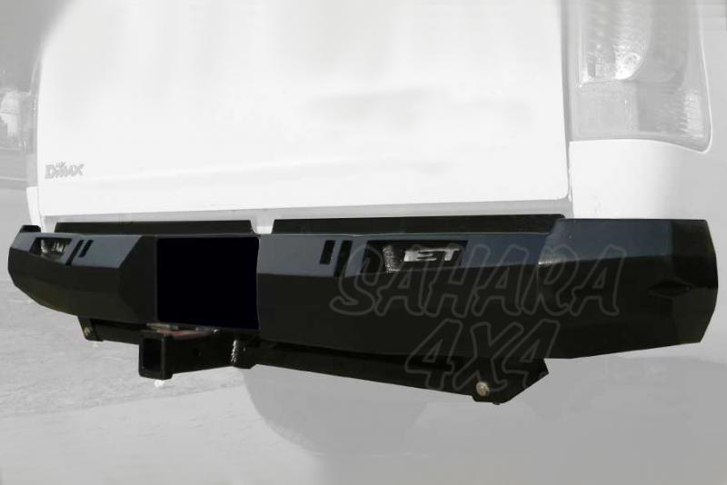 Paragolpes trasero para Isuzu D-MAX + 2012 - Isuzu D-MAX + 2012