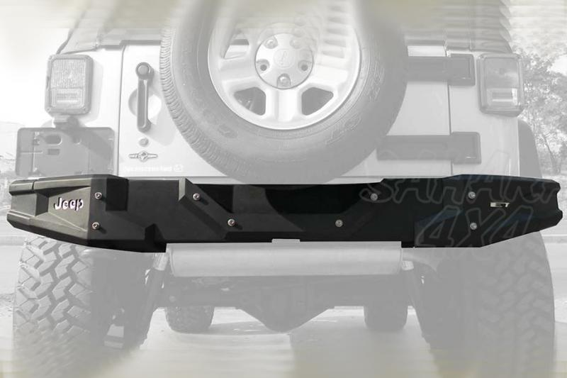 Paragolpes trasero Ecotec para Jeep Wrangler JK - Jeep Wrangler JK