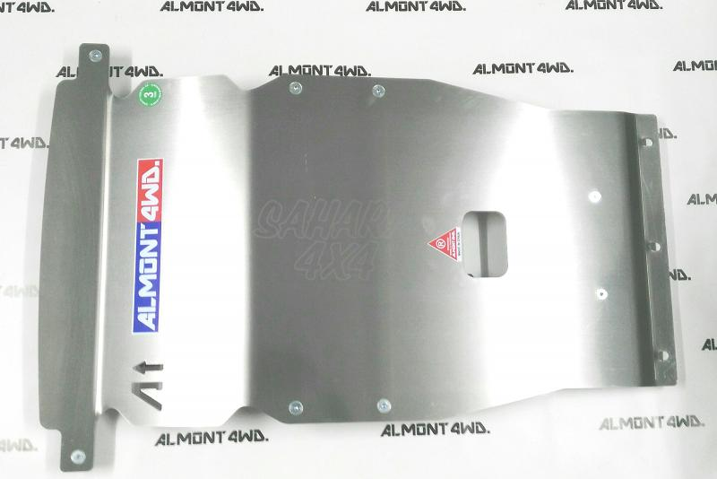 Protectores Almont para Land Rover Discovery III/IV - Duraluminio H111 6mm o 8mm