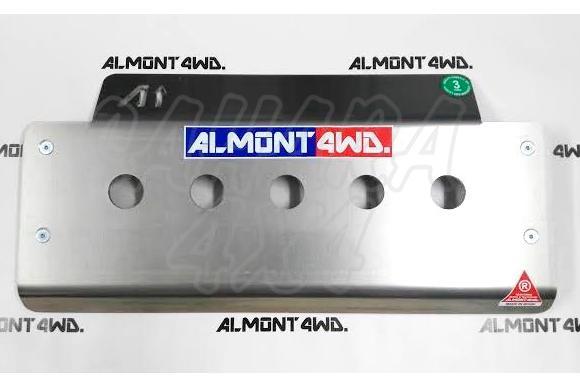 Protectores Almont para Land Rover Discovery II - Protector Frontal en Duraluminio H111 8mm