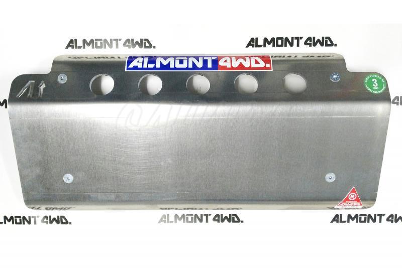 Protectores Almont para Range Rover Classic - Cubrecárter en Duraluminio H111 8 mm
