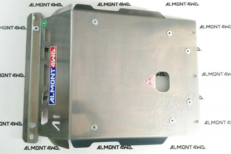 Protectores Almont para Mitsubishi Montero DID V60 - Duraluminio H111 6 mm o 8mm