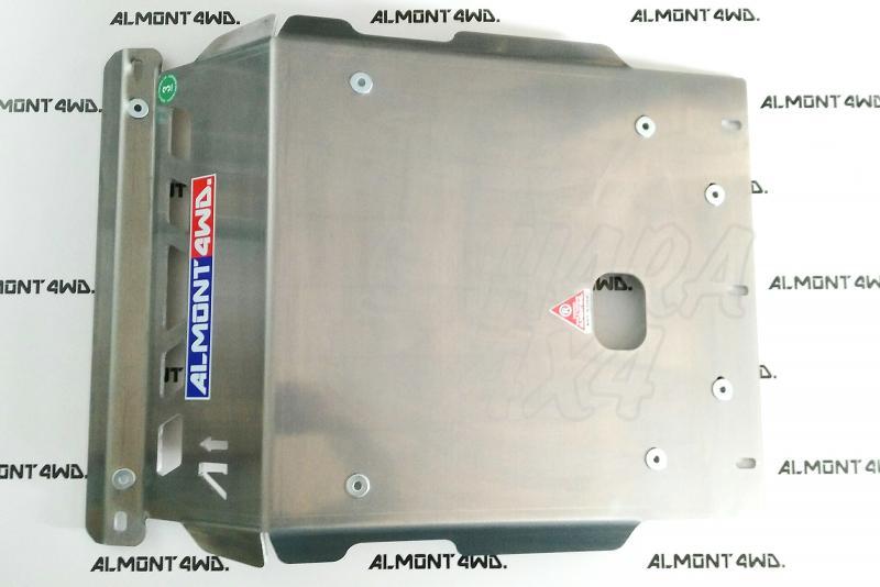 Protectores Almont para Mitsubishi Montero DID V80 - Duraluminio H111 6 mm o 8mm