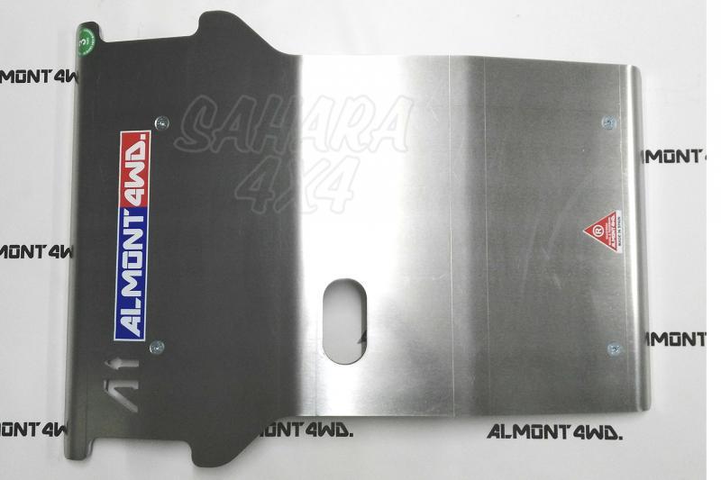 Protectores Almont para Mitsubishi L200 2.5 TD (1996-2006) - Duraluminio H111 8mm, Disponible Protector de Cárter