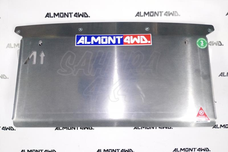 Protectores Almont para Nissan Navara D-23 NP300 (2016-2017) - Duraluminio H111 6 mm o 8mm