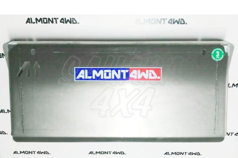 Protectores Almont para Nissan Pathfinder R-51 / Navara D-40 - Duraluminio H111 6 mm o 8mm