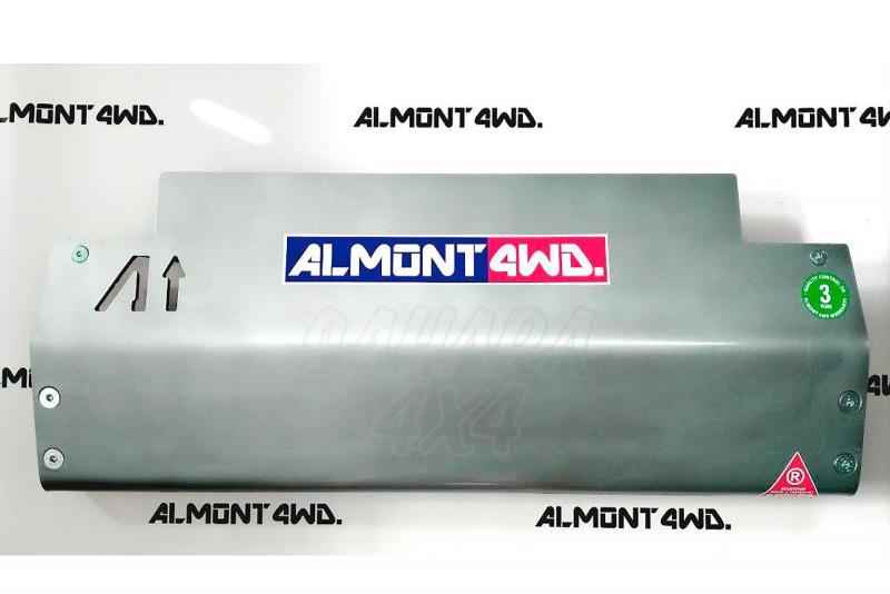 Protectores Almont para Nissan Patrol GR Y60 - Duraluminio H111 8mm