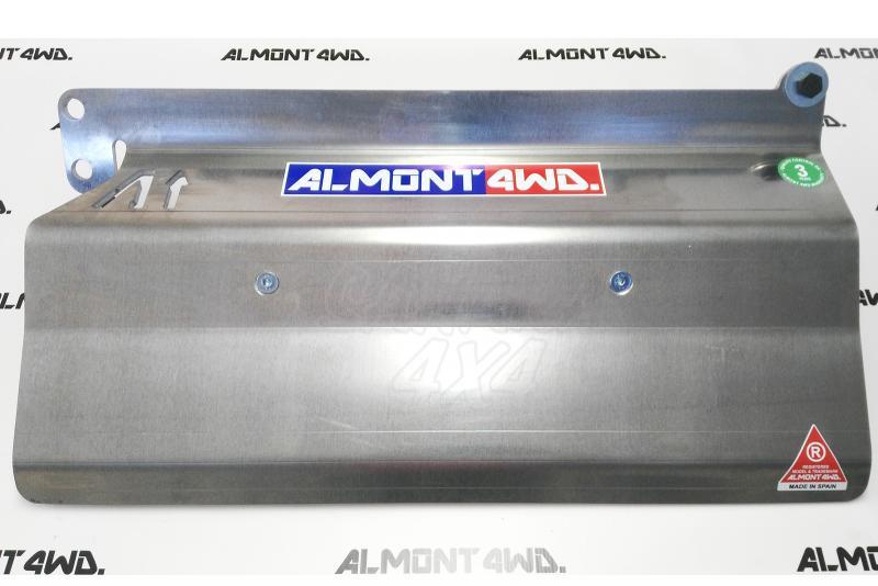 Protectores Almont para Nissan Patrol GR Y61 - Duraluminio H111 6mm o 8mm