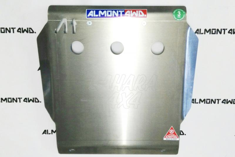 Protectores Almont para Toyota 4Runner KZ - Duraluminio H111 6 mm o 8mm