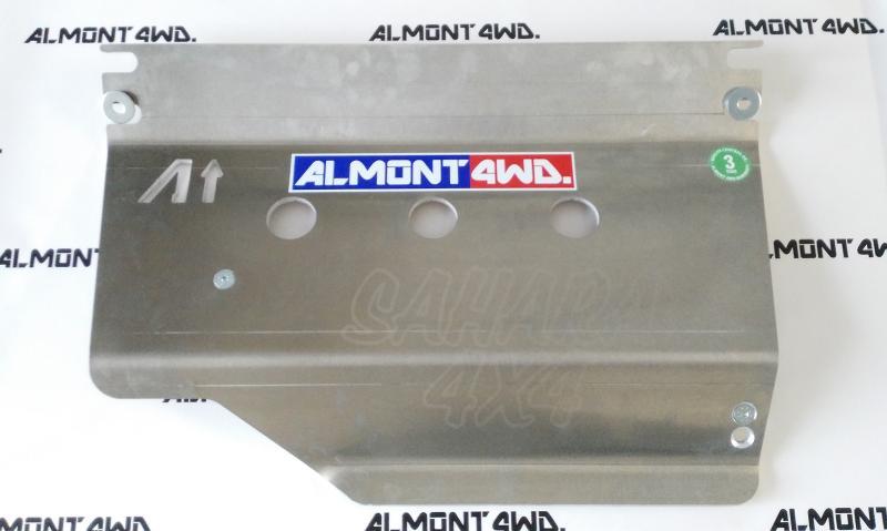Protectores Almont para Toyota Land Cruiser KZJ-LJ70/73/77  - Duraluminio H111 8mm