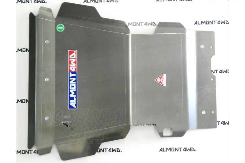 Protectores Almont para Toyota Land Cruiser HDJ100