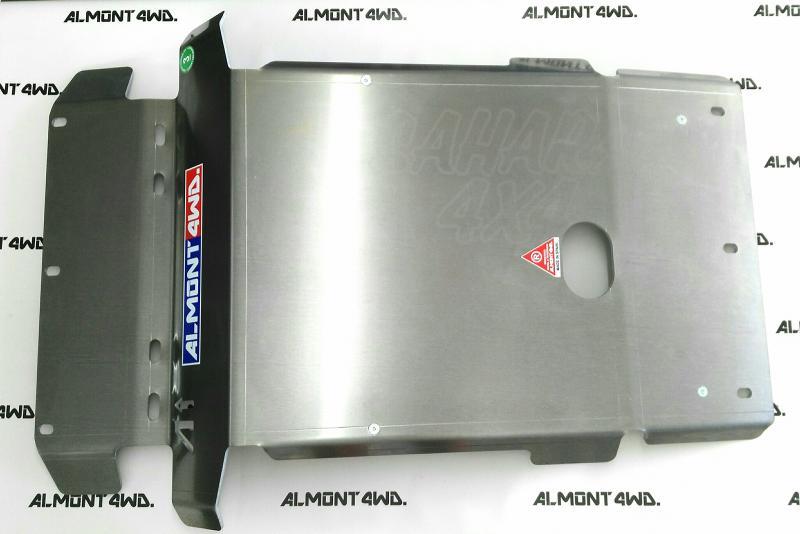 Protectores Almont para Toyota Land Cruiser KDJ-150/155 - Duraluminio H111 6 mm o 8mm