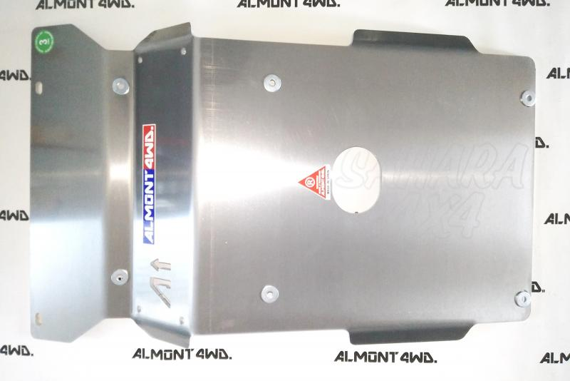 Protectores Almont para Toyota Hilux D4D