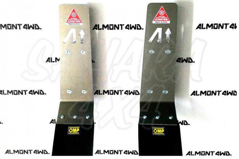 Protector de Amortiguador Trasero Almont para Toyota Land Cruiser 120/150 - Duraluminio H111 6 mm , precio por pareja