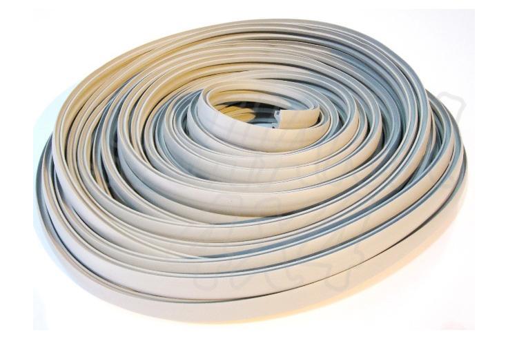 Perfil de goma para aero - Precio por 1 metro, seleccione la cantidad de metros que desee.