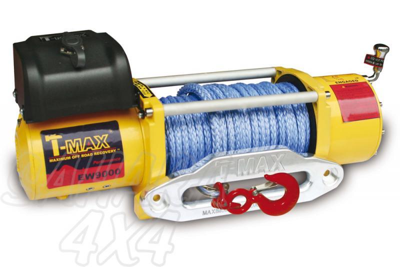 Cabrestante T-Max PEW9000 24v - Caja de Reles Separada 4080 Kg de arrastre