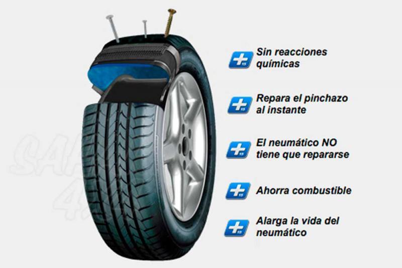 Plus 15 Protect , protección para su neumático ANTIPINCHAZOS - Seleccione el tipo de vehiculo
