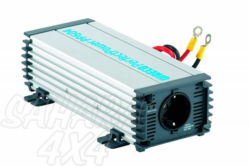 Transformador WAECO de 12v a 220 v 550w continuo 1100 w pico maximo - Con seguro contra sobrecarga y cortocircuito, desconexion por sobretension y por subtension, fusible de proteccion contra polarizacion inversa, se puede encender y apagar con un interruptor externo.