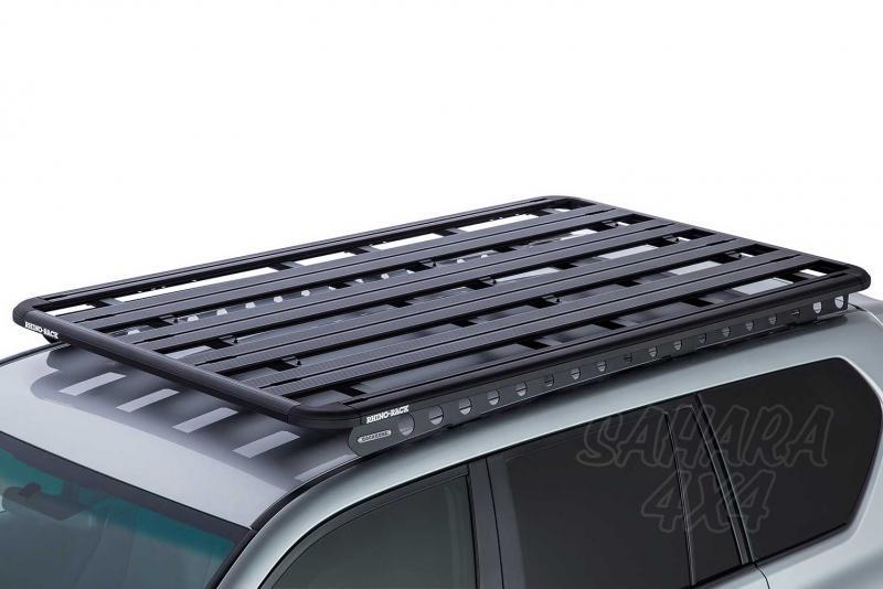 Baca Rhino Rack Pioneer Platform para Toyota Land Cruiser 150 Largo 2009- - Medidas 1928mm x 1236mm o 2128mm x 1236mm (39 mm altura) , carga máxima 100Kg