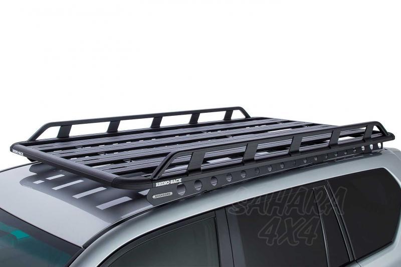 Baca Rhino Rack Pioneer Tradie para Toyota Land Cruiser 150 Largo 2009- - Medidas 1928mm x 1236mm o 2128mm x 1236mm (135 mm altura) , carga máxima 120Kg