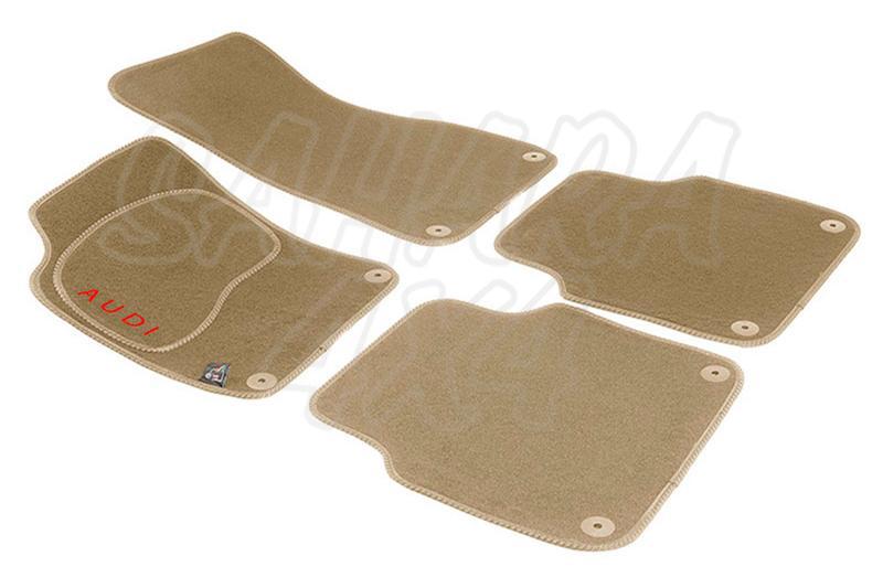 Alfombras a medida para Volvo XC90 - Kit de 4 alfombras, pulse para seleccionar el material.