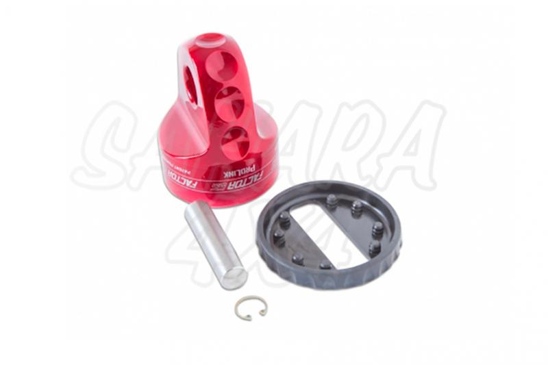 Gancho Factor 55 para cable de acero o sintetico ProLink Rojo