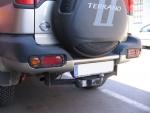 Juego protectores de pilotos traseros inferiores - Nissan Terrano II MOD. 1992 / MOD. 1996 / MOD. 2000 (especificar modelo)