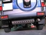 Protectores de Bajos Toyota Land Cruiser KZJ90-95 - Disponible: Cubrecárter, Cubretransfer y cambio, Cubredepósito, Protector inferior de paragolpes, Cubrediferencial trasero, Cubregrupo trasero con patín desm. o Protectores de sensor de ABS (especificar producto y vehículo)