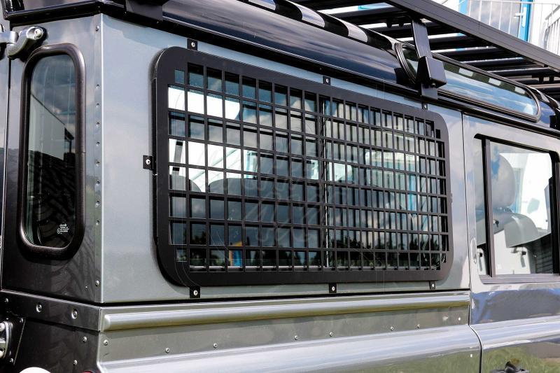 Protectores para las ventanas laterales traseras para Defender 90/110 - Para las ventanas trasera de los land rover DEFENDER 90/110