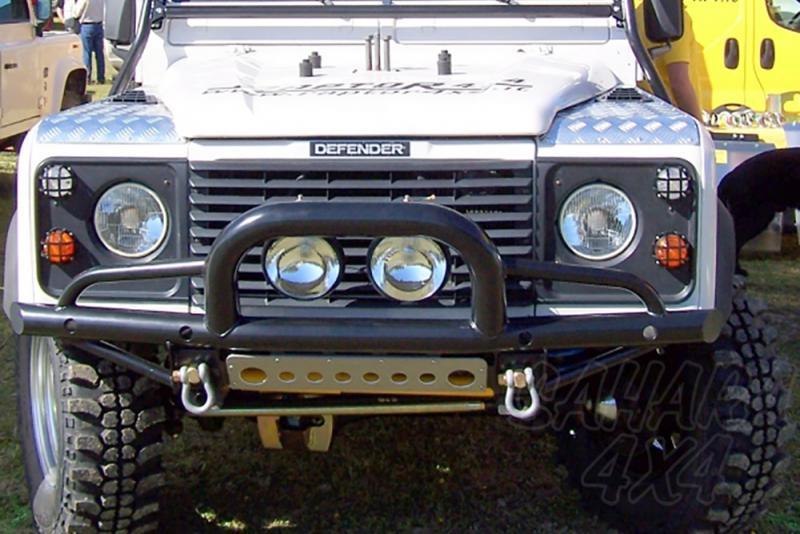 Paragolpes Delantero Tubular HD con defensa Land Rover Defender  - Con soporte de winch