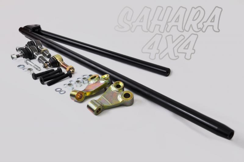Kit de barras de direccion reforzadas para Suzuki Samurai , VALIDO PARA SPOA - Con rotulas incluidas , VALI