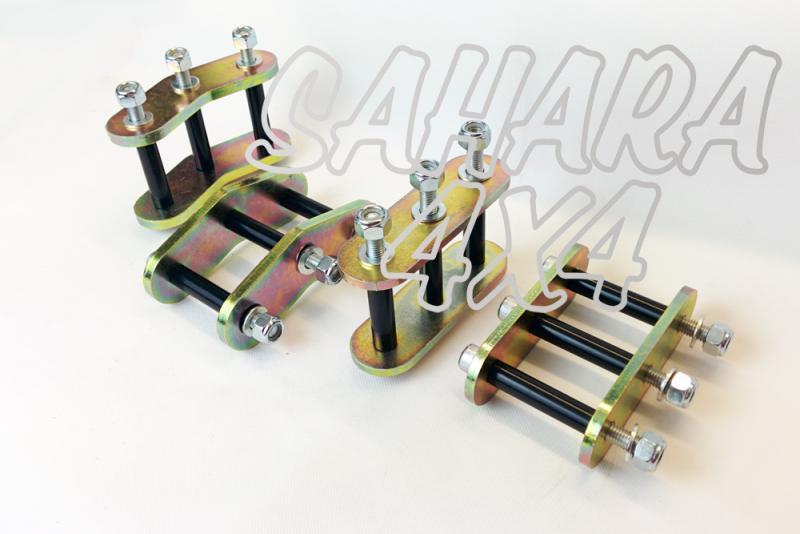 Kit Gemelas + 2.5 cm Suzuki Samurai - Kit completo de 4 gemelas