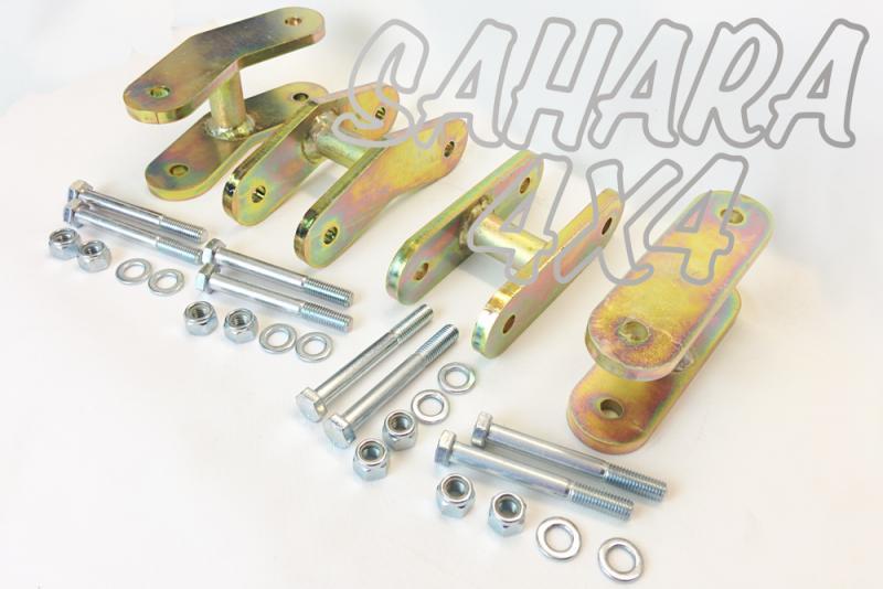 Kit Gemelas + 5 cm Suzuki Samurai - Kit completo de 4 gemelas