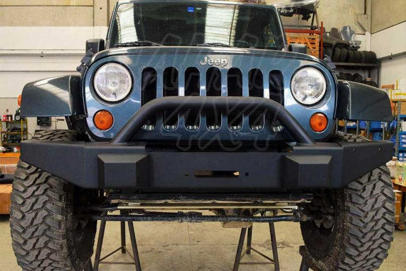 Paragolpes HD con A-BAR Jeep Wrangler JK - Paragolpes Delantero con Soporte de Winch