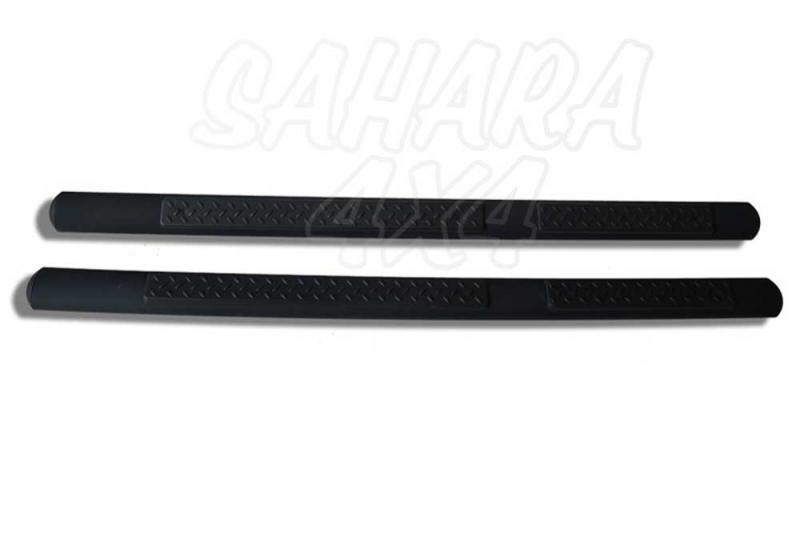 Estriberas Tubulares para Wrangler JK 5 puertas , color negro - Pareja en color negro