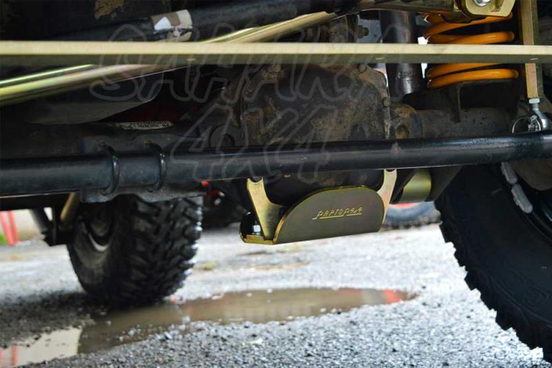 Protector de diferencial delantero wrangler JK - Fabricado en acero