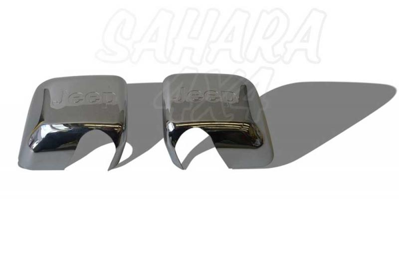 Proteccion espejo acabado plastico cromado  (pareja) - Pareja