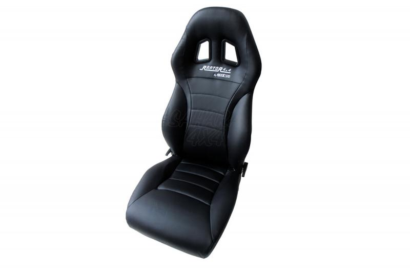 Asiento Raptor Expedition calefactable , Fabricado en Sky por Sparco - Correderas no incluidas